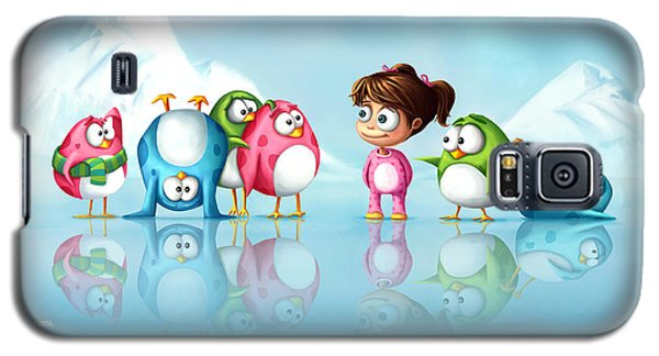 Im A Penguin Too Galaxy S5 Case by Tooshtoosh