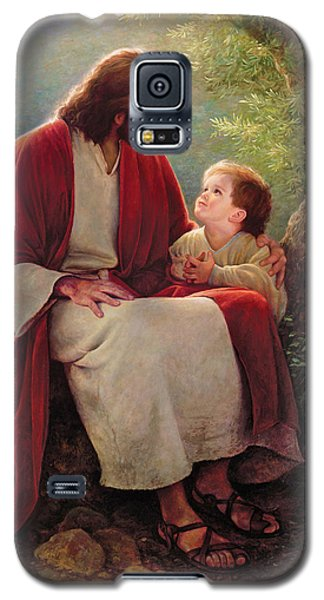 Best Sellers -  - Galaxy S5 Cases - In His Light Galaxy S5 Case by Greg Olsen
