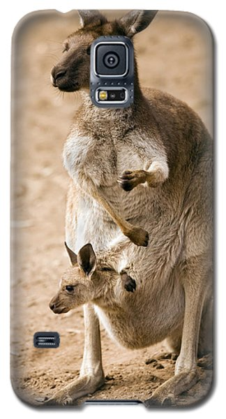 In  Mother's Care Galaxy S5 Case by Mike  Dawson