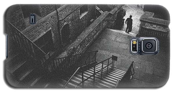 In Pursuit Of The Devil On The Stairs Galaxy S5 Case by Joseph Westrupp