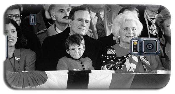 Inauguration Of George Bush Sr Galaxy S5 Case by H. Armstrong Roberts/ClassicStock
