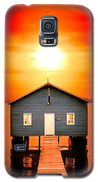 Buy Galaxy S5 Cases - Blood Sunset Panorama Galaxy S5 Case by Az Jackson