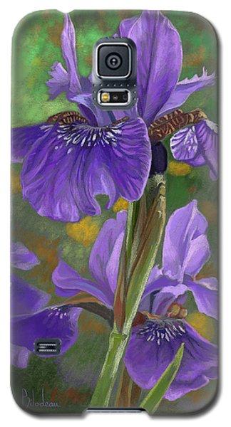 Irises Galaxy S5 Case by Lucie Bilodeau