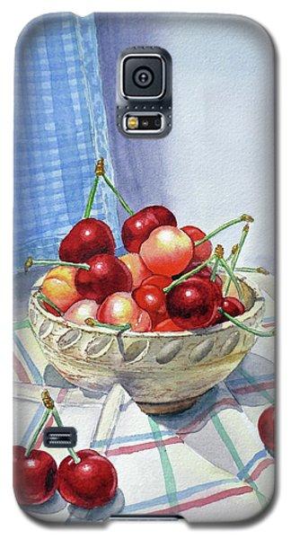 It Is Raining Cherries Galaxy S5 Case by Irina Sztukowski