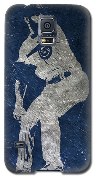 Jake Arrieta Chicago Cubs Art Galaxy S5 Case by Joe Hamilton