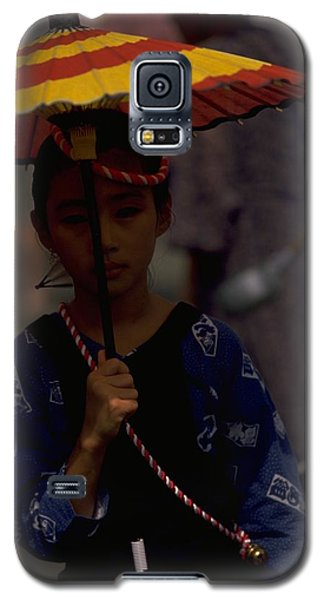 Galaxy S5 Case featuring the photograph Japanese Girl by Travel Pics