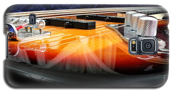 Jazz Bass Beauty Galaxy S5 Case by Todd A Blanchard