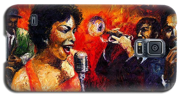 Jazz Song Galaxy S5 Case by Yuriy  Shevchuk