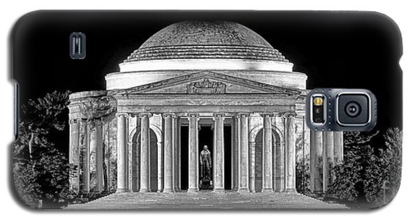 Jefferson Memorial Lonely Night Galaxy S5 Case by Olivier Le Queinec