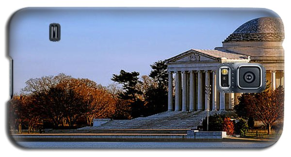 Jefferson Memorial Sunset Galaxy S5 Case by Olivier Le Queinec