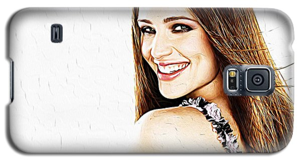Jennifer Garner Galaxy S5 Case by Iguanna Espinosa