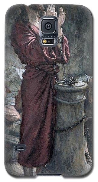 Jesus In Prison Galaxy S5 Case by Tissot