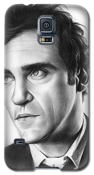Joaquin Pheonix Galaxy S5 Case by Greg Joens