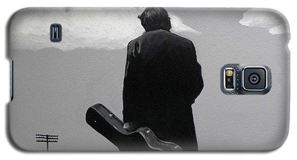 Johnny Cash Galaxy S5 Case by Tom Carlton