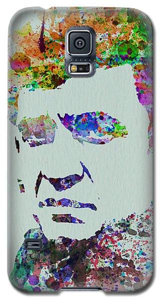 Johnny Cash Watercolor 2 Galaxy S5 Case by Naxart Studio