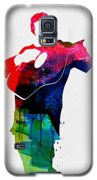 Johnny Watercolor Galaxy S5 Case by Naxart Studio