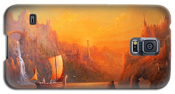 Journey To The Undying Lands Galaxy S5 Case by Joe  Gilronan