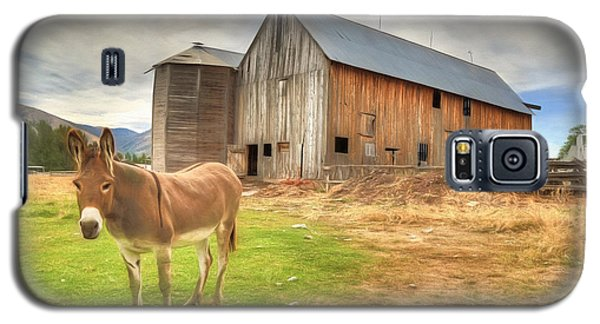 Just Another Day On The Farm Galaxy S5 Case by Donna Kennedy