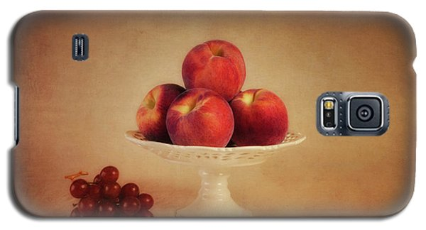 Just Peachy Galaxy S5 Case by Tom Mc Nemar