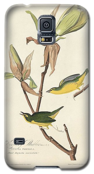 Kentucky Warbler Galaxy S5 Case by John James Audubon