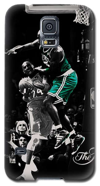 Kevin Garnett Not In Here Galaxy S5 Case by Brian Reaves