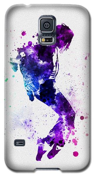King Of Pop Galaxy S5 Case by Rebecca Jenkins