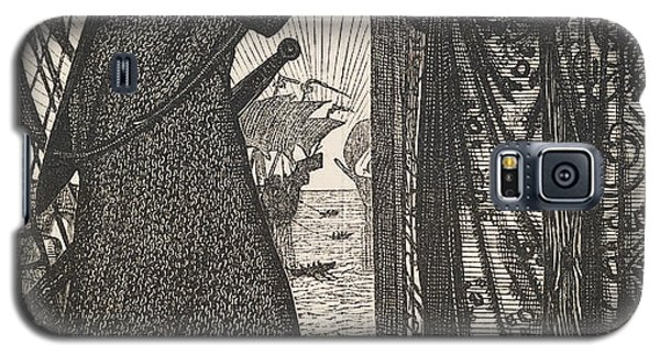 Reliefs Galaxy S5 Cases - King Sigurd the Crusader  Galaxy S5 Case by Edward Burne-Jones