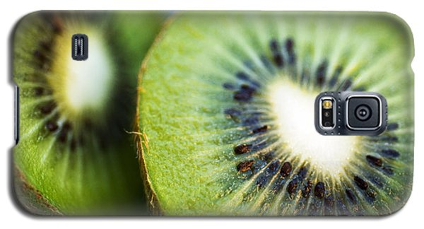 Kiwi Fruit Halves Galaxy S5 Case by Ray Laskowitz - Printscapes