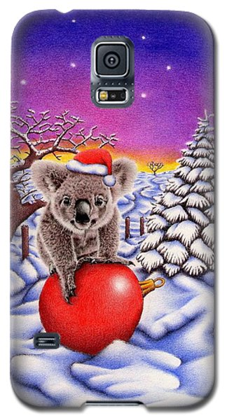 Koala On Ball Galaxy S5 Case by Remrov