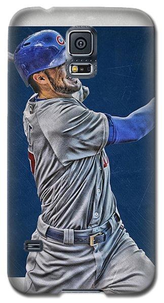 Kris Bryant Chicago Cubs Art 3 Galaxy S5 Case by Joe Hamilton