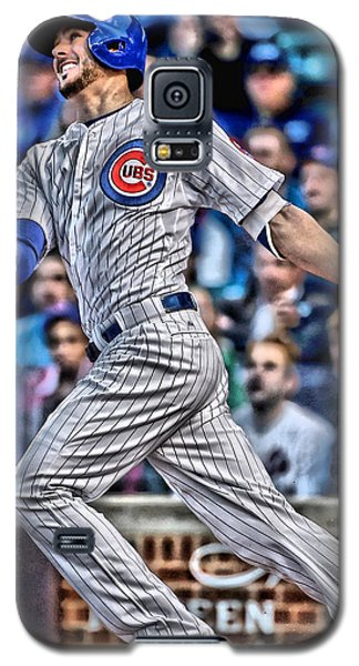 Kris Bryant Chicago Cubs Galaxy S5 Case by Joe Hamilton