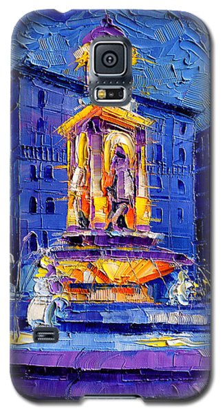 Popular Galaxy S5 Cases - La Fontaine Des Jacobins Galaxy S5 Case by Mona Edulesco