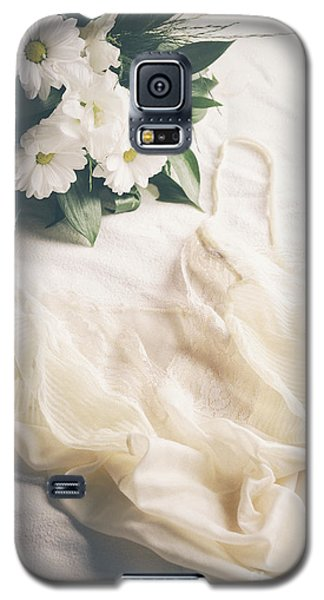 Pyrography Galaxy S5 Cases - Laced Underwear Galaxy S5 Case by Jelena Jovanovic