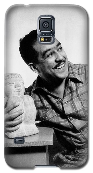 Langston Hughes (1902-1967) Galaxy S5 Case by Granger