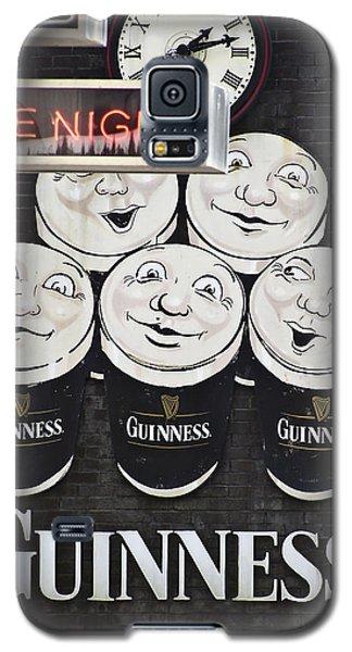 Late Night Guinness Limerick Ireland Galaxy S5 Case by Teresa Mucha