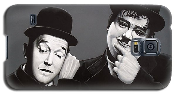 Laurel And Hardy Galaxy S5 Case by Paul Meijering