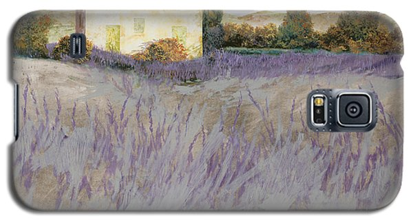 Lavender Galaxy S5 Case by Guido Borelli
