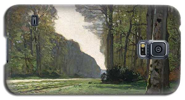 Le Pave De Chailly Galaxy S5 Case by Claude Monet