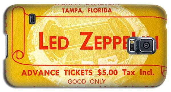 Led Zeppelin Ticket Galaxy S5 Case by David Lee Thompson