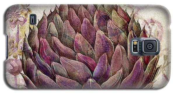 Legumes Francais Artichoke Galaxy S5 Case by Mindy Sommers