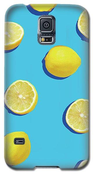 Lemon Pattern Galaxy S5 Case by Rafael Farias