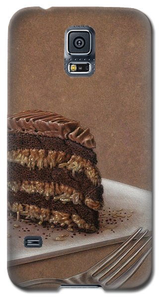 Drawings Galaxy S5 Cases - Let us eat cake Galaxy S5 Case by James W Johnson