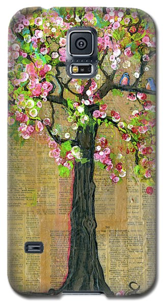 Lexicon Tree Of Life 4 Galaxy S5 Case by Blenda Studio