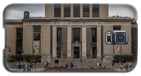 Library At Penn State University  Galaxy S5 Case by John McGraw