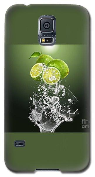 Lime Splash Galaxy S5 Case by Marvin Blaine