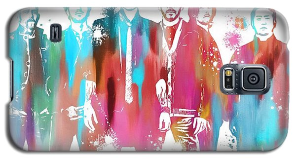 Linkin Park Watercolor Paint Splatter Galaxy S5 Case by Dan Sproul