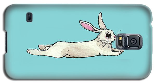 Little Bunny Rabbit Galaxy S5 Case by Katrina Davis
