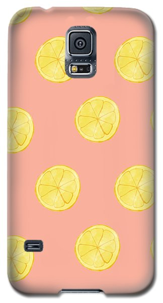 Little Lemons Galaxy S5 Case by Allyson Johnson
