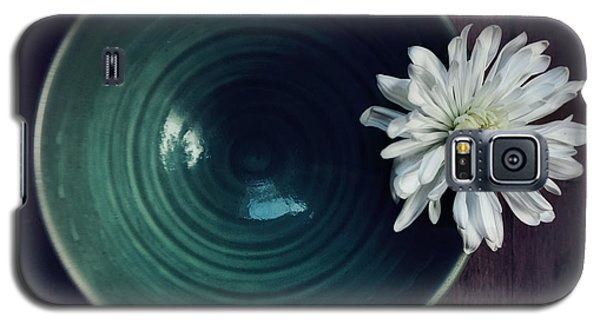 Flower Galaxy S5 Cases - Live Simply Galaxy S5 Case by Priska Wettstein