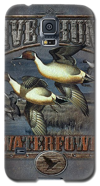 Live To Hunt Pintails Galaxy S5 Case by JQ Licensing